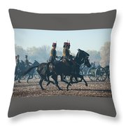 Kings Troop Rha Throw Pillow
