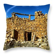 Kinishba Ruins Throw Pillow