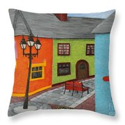 Kinsale Ireland Throw Pillow