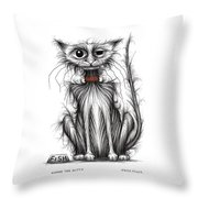 Kipper The Kitty Throw Pillow