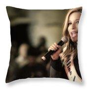 Kira Kazantsev Throw Pillow