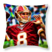 Kirk Cousins Throw Pillow