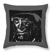 Kirk Douglas Old Tucson Arizona Number 1 1971-2008 Throw Pillow