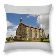Kirk Of Shotts. North Lanarkshire. Throw Pillow