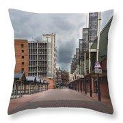 Kirkgate Market Throw Pillow