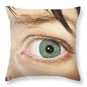 Kirsten's Intac Throw Pillow