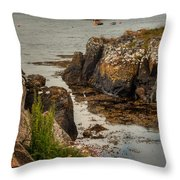 Kisimul Castle Throw Pillow