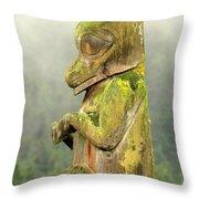 Kispiox Totem Throw Pillow