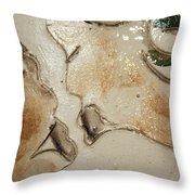Kiss - Tile 1 Throw Pillow