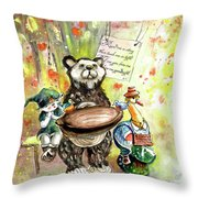 Kiss Me Goodnight In Whitby Throw Pillow