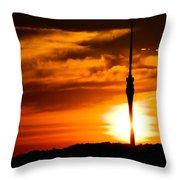 Kiss Of Morning Sun Throw Pillow