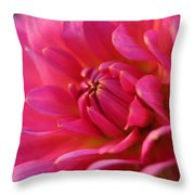 Kiss Of Pink Throw Pillow