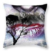 Kiss Of The Moon Throw Pillow