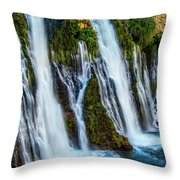 Kiss Of Water Throw Pillow