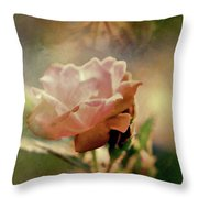 Kissed By A Rose Throw Pillow