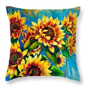 Kissed By God Throw Pillow