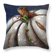 Kissed By The Moon Throw Pillow
