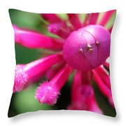 Kissing Flower Throw Pillow