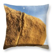 Kissing The Moon  Throw Pillow