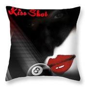 Kissshot2 Throw Pillow
