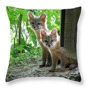 Kit Fox16 Throw Pillow