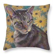 Kit Cat Throw Pillow