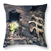 Kitchen Altar Throw Pillow
