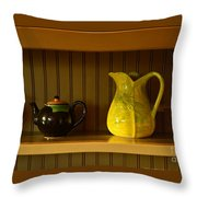 Kitchen Cupboard Throw Pillow