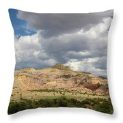 Kitchen Mesa Panorama Throw Pillow