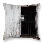 Kitchen Of An Old House, Helen Keller Throw Pillow