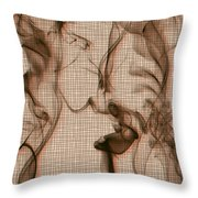Kitchen Problems Throw Pillow