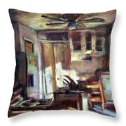 Kitchen Reflections Throw Pillow