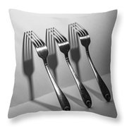 Kitchen Shadows Throw Pillow