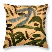 Kite - Tile Throw Pillow