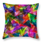 Kite Festival Throw Pillow