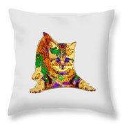 Kitty Love. Pet Series Throw Pillow