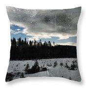 Klamath Falls Sunrise Throw Pillow