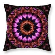 Klassy Kaleidoscope Throw Pillow