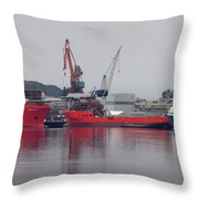 Kleven Yard Norway Throw Pillow