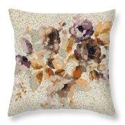 Klimt's Garden Throw Pillow