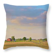 Klingel Farm Throw Pillow