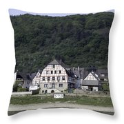Km 578 Spay Germany Throw Pillow