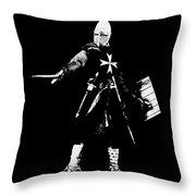 Knight Hospitaller - 02 Throw Pillow