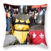 Knight Squad Throw Pillow