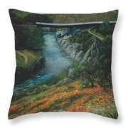 Knights Ferry 2 Throw Pillow