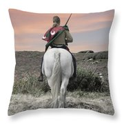 Knight's Quest Throw Pillow