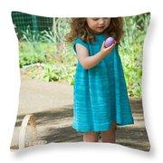 Knitdress Throw Pillow
