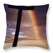 Knockmealdown Mountain, County Throw Pillow