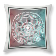 Knotplot 3 - Use Red-cyan 3d Glasses Throw Pillow