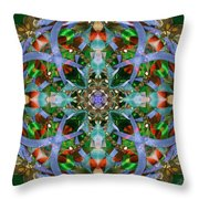 Knots Xviii Throw Pillow by Kenneth Hadlock